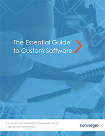 Custom Software Ebook - Konverge