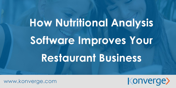 Nutritional Analysis Benefits