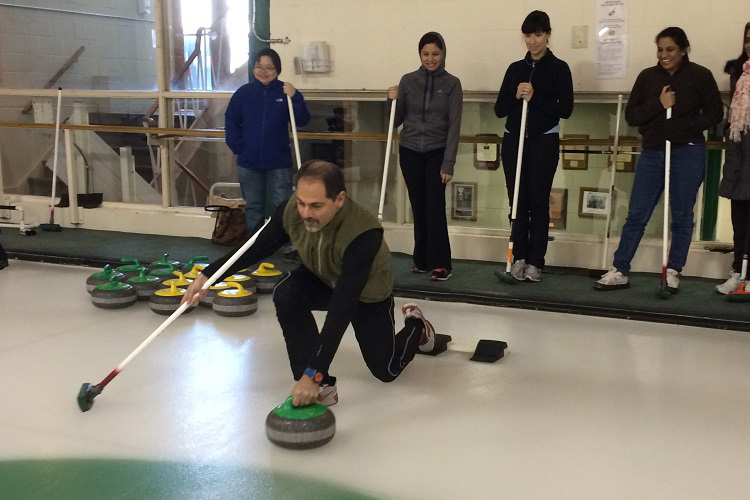 Team Curling Event